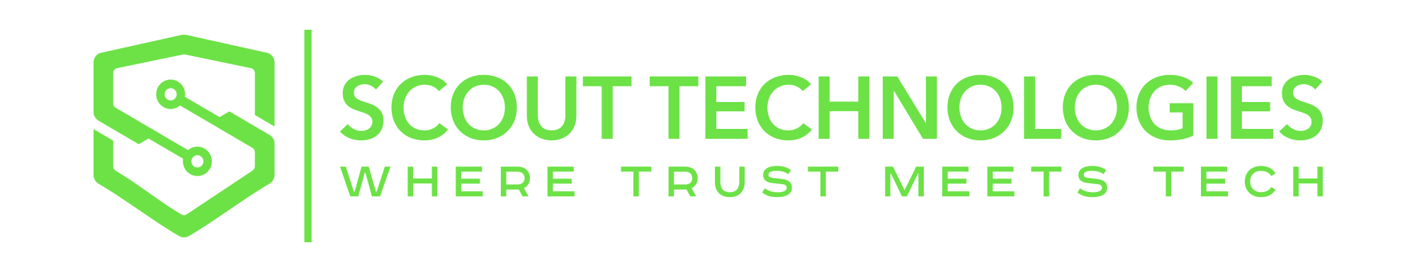 scout tech logo green